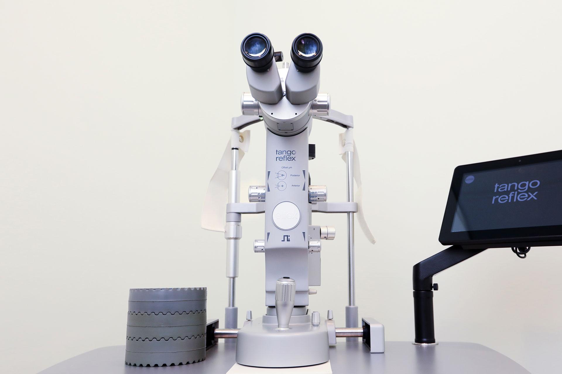 علاج الشبكية التربيقية بالليزر SLT